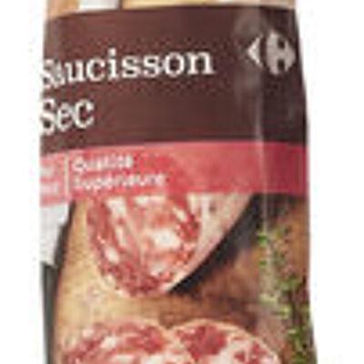 Saucisson sec (Carrefour discount)
