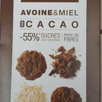 Biscuits croquants avoine & miel (Toogood)