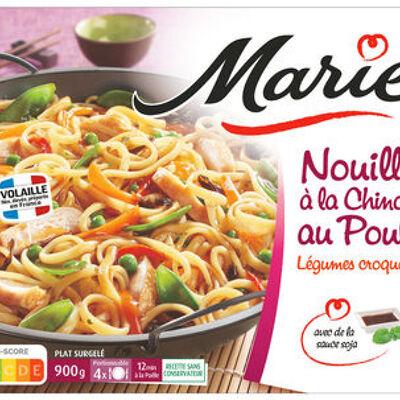 Nouilles à la chinoise au poulet, legumes croquants (Marie)