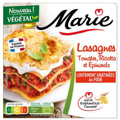 Lasagnes tomates, ricotta et epinards (Marie)