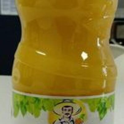 100% pur jus orange sans pulpe (Paquito)