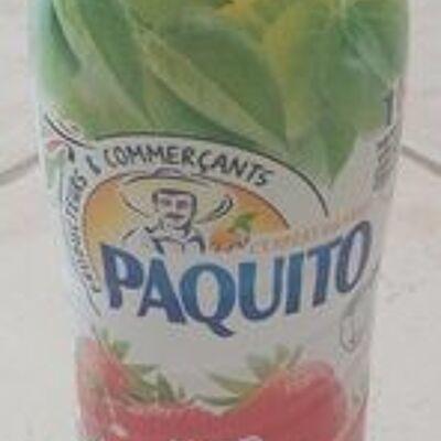 Sirop fraise (Paquito)