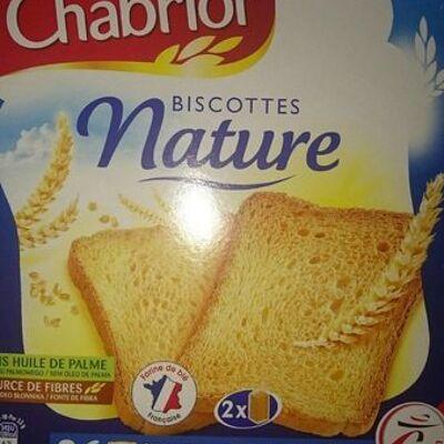 Biscottes nature (Chabrior)