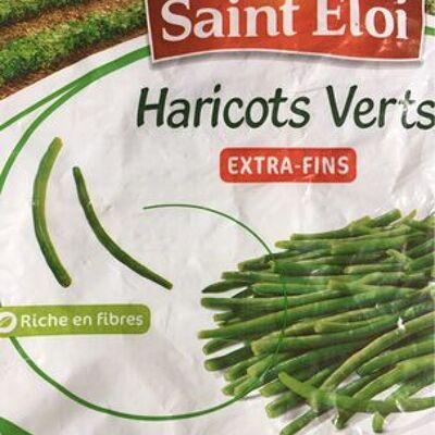 Haricots verts extra-fins surgelé (Saint eloi)