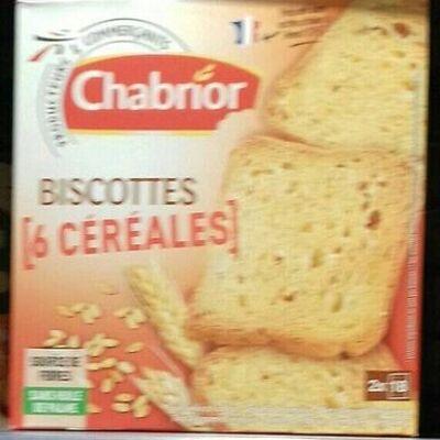 Biscottes aux 6 céréales (Chabrior)