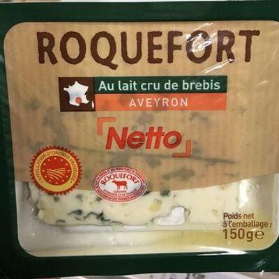 Roquefort - au lait cru de brebis - aveyron (Netto)