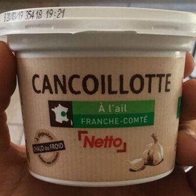 Cancoillotte à l'ail (Netto)
