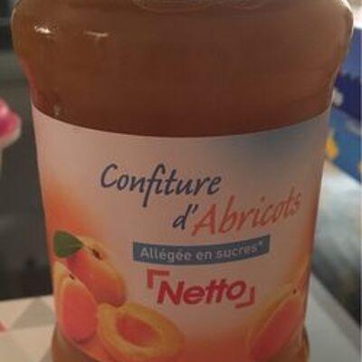 Confiture d'abricots allégée en sucre (Netto)