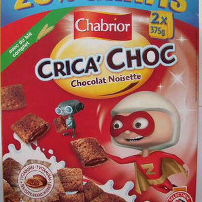 Crica' choc chocolat noisette (Chabrior)