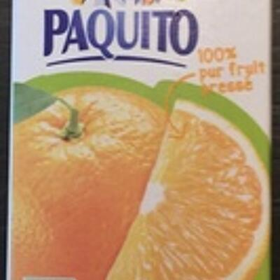 Jus d'orange pulpé (Paquito)