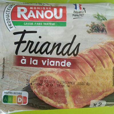 Friand à la viande (Monique ranou)