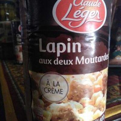 Lapin aux deux moutardes (Monique ranou)