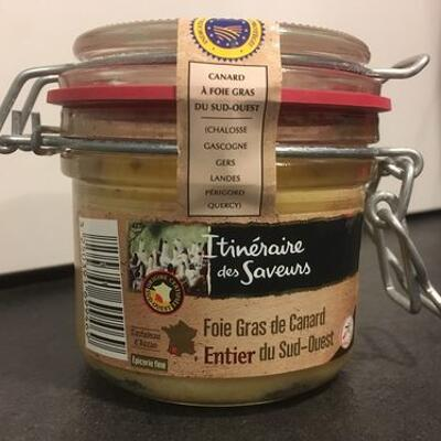 Foie gras de canard entier du sud-ouest (Itineraire des saveurs)