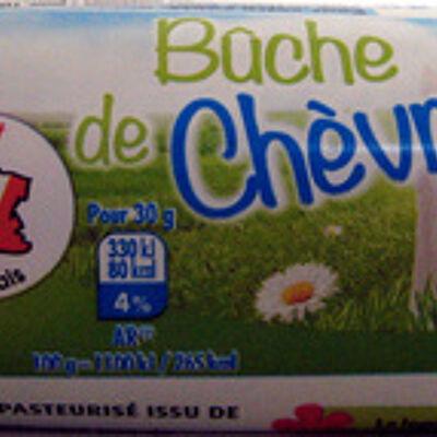 Bûche de chèvre (21 % mg) (Pâturages)