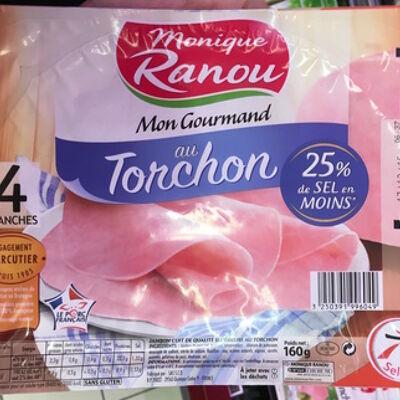 Mon gourmand au torchon (25% de sel en moins) (Monique ranou)