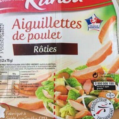Aiguillettes de poulet rôties (Monique ranou)