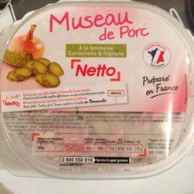Museau de porc (Netto)