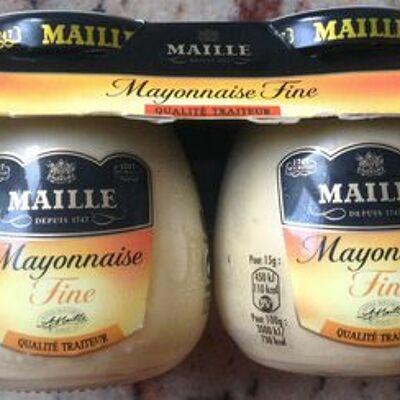 Maille mayonnaise fraîche fine 2x125g (Maille)