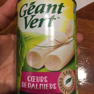 Coeurs de palmiers (Geant vert)