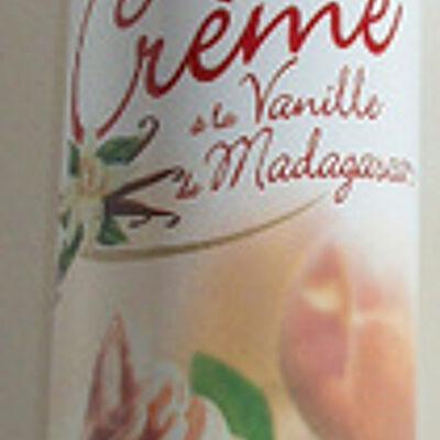 Crème à la vanille de madagascar (Isigny saint mere)