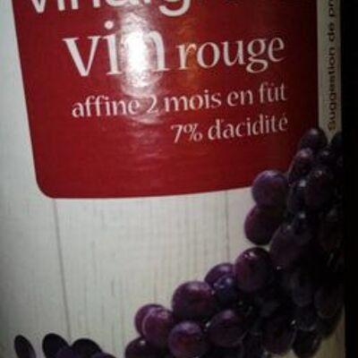 Vinaigre de vin rouge (Auchan)