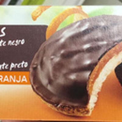 Génoises chocolat noir orange (Auchan)