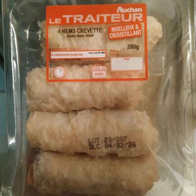 Nem aux crevettes (Auchan)