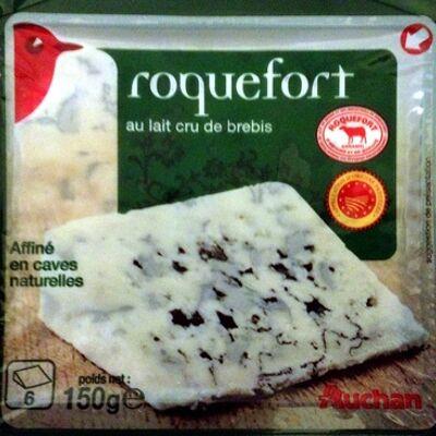 Roquefort au lait cru de brebis (32% mg) (Auchan)