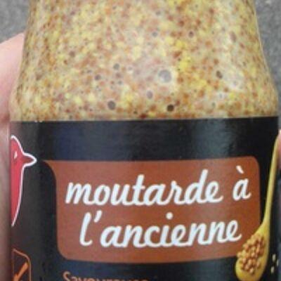 Moutarde à l'ancienne (Auchan)