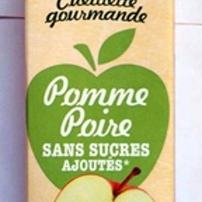 Cueillette gourmande pomme poire (Pressade)