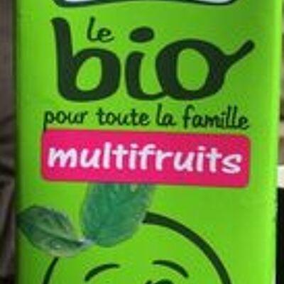 Le Bio Pour Toute La Famille Multifruits (Pressade)