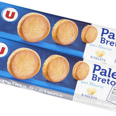 Palets bretons pur beurre (U)