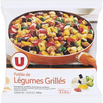 Poêlée de légumes grillés (U)