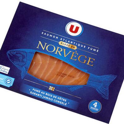 Saumon atlantique fumé norvège (U)