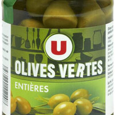 Olives vertes entières (U)
