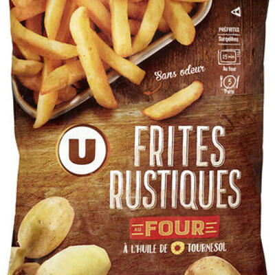 Frites rustiques au four (U)