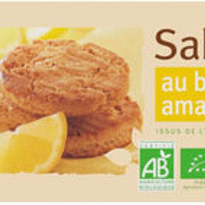 Sablés amandes citron (U bio)