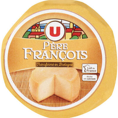 Fromage au lait pasteurisé père françois 22% de mg (U)