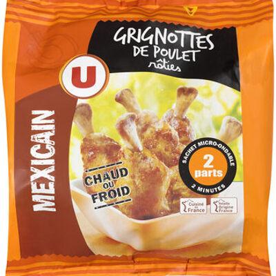 Grignotte de poulet rôtie goût mexicain (U)