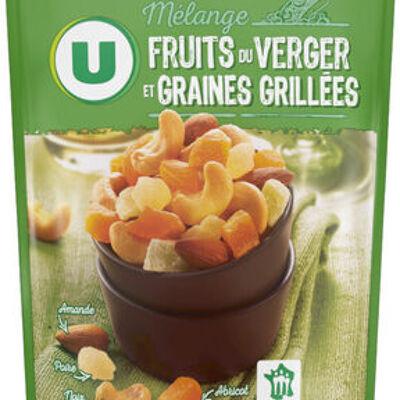 Mélange fruits du verger et graines grillées (U)