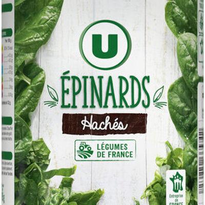 Epinards hachés (U)