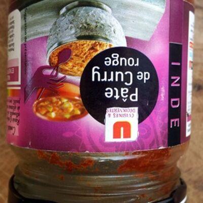 Pâte de curry rouge (Cuisines & decouvertes)