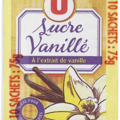 Sucre vanillé (U)