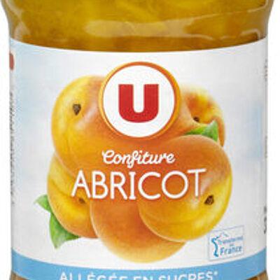 Confiture d'abricot allégée (U)