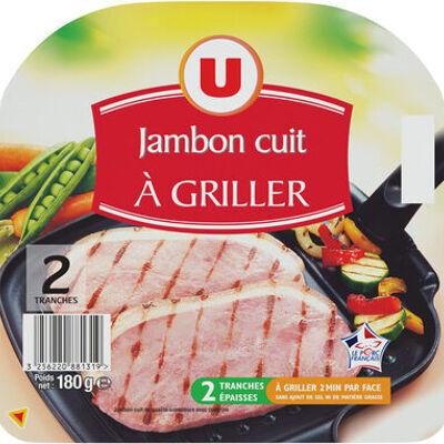 Jambon cuit à griller (U)