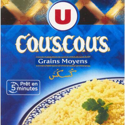 Graine couscous grains moyens (U)