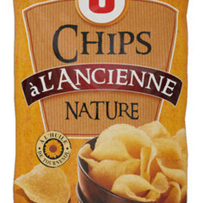 Chips à l'ancienne nature (U)