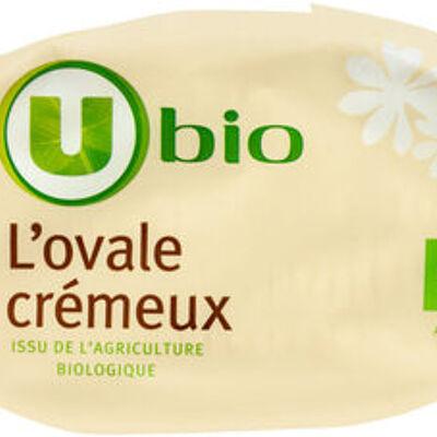 Fromage crèmeux au lait pasteurisé bio 25% de mg (U)
