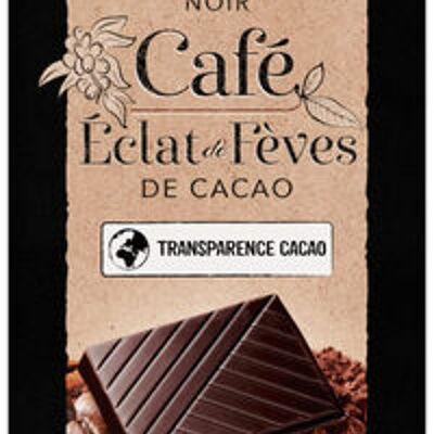Tablette de chocolat noir café dégustation (U)