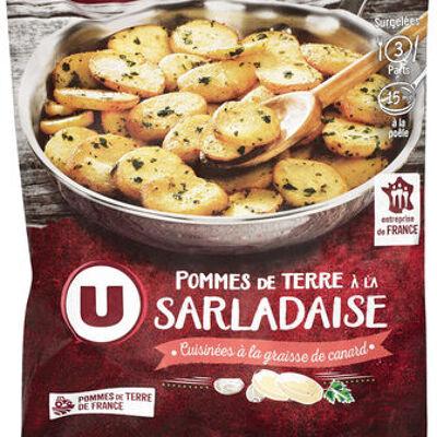 Pommes de terre à la sarladaise (U)
